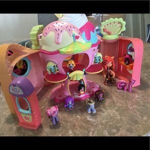 Littlest pet shop play set/My little pony/extras